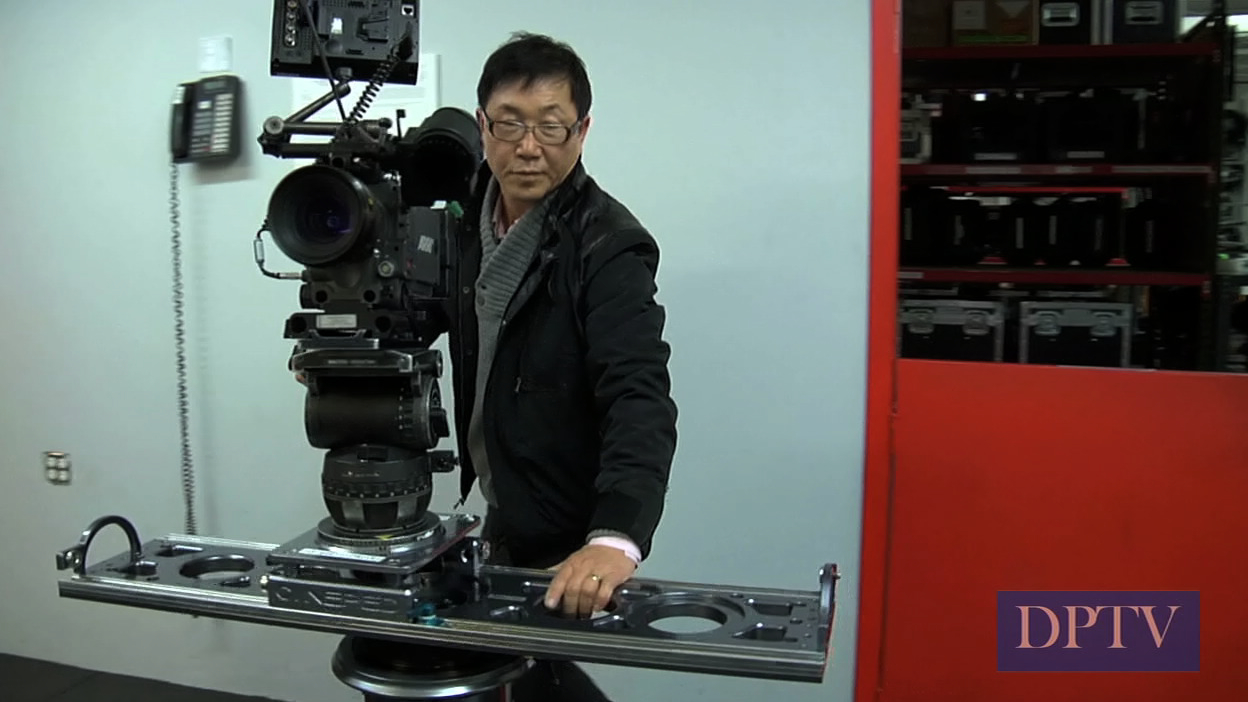 The Cineped, camera support system